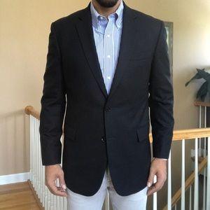 Brooks Brothers Navy Wool Sport Coat Blazer - 40
